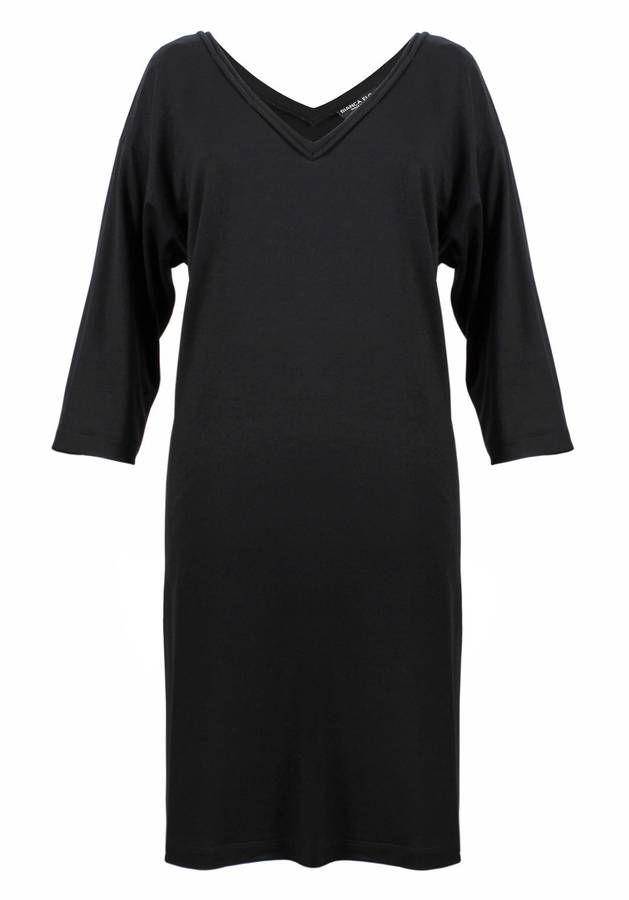 Bianca Elgar - The Ava Black Tunic Dress