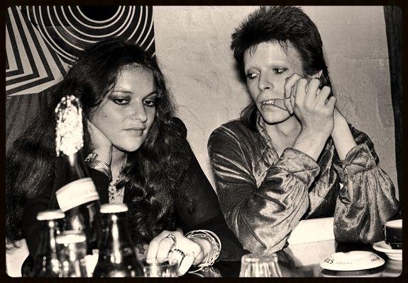 Dana Gillespie and David bowie 70s.