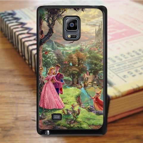 Beautiful Sleeping Beauty Princess Samsung Galaxy Note 4 Case