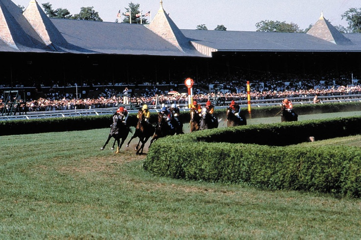 """Saratoga Race Track..went there for """"research"""" for the Horse Show Ball at Gipsy Trail Club."""