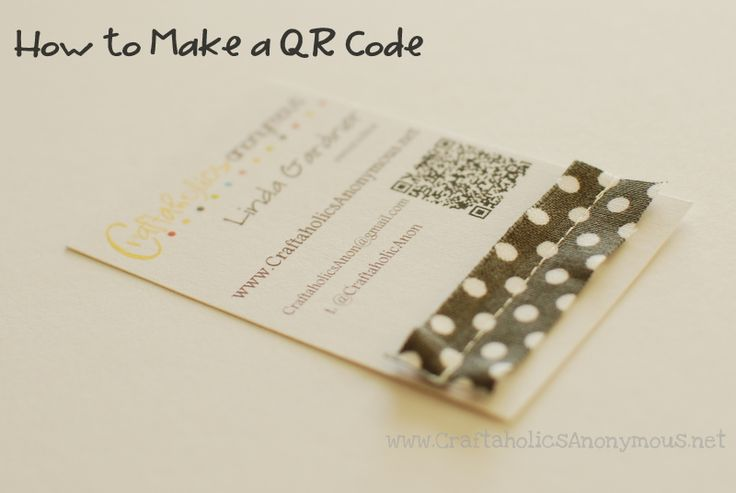 Generate QR code for business cards or other materialsCreative Business Cards, Qr Codes Business Cards, Biz Cards, Blog Business, Crafts Blog, Crafty Business, Crafts Business, Diy Business, B&B Business Cards