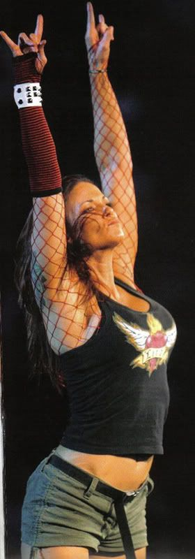 former WWE diva Lita my favorite diva of the additude era former wwe womens champion