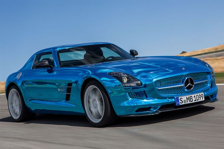 Mercedes SLS Electric 2