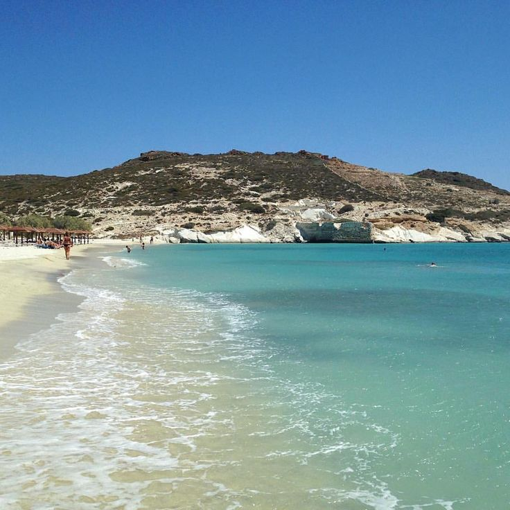 island of Kimolos (Κίμωλος) The exotic Prassa beach