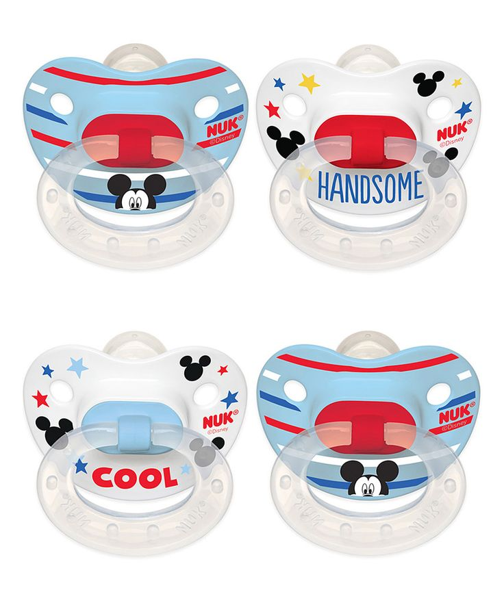 Loving this NUK Disney® Mickey Mouse Orthodontic Pacifier - Set of 8 on #zulily! #zulilyfinds