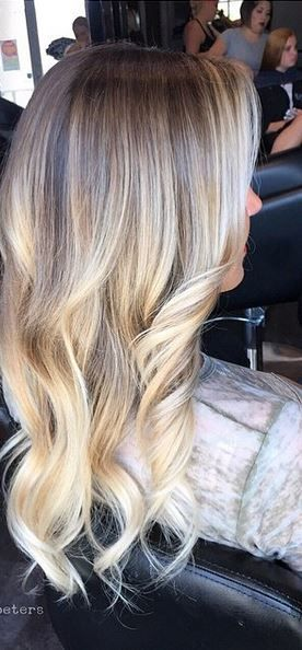 buttery blonde highlights - blended perfectly with clients natural roots …
