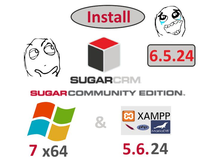 Install #SugarCRM Community Edition ( CE ) 6.5.24 on Windows 7 x64 localhost ( #XAMPP 5.6.24 ) - open source #PHP #CRM