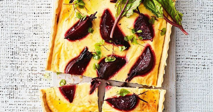 Make the most of in-season produce with this delicious beetroot and ricotta pastry tart. This easy recipe is perfect for lunch or a light dinner.