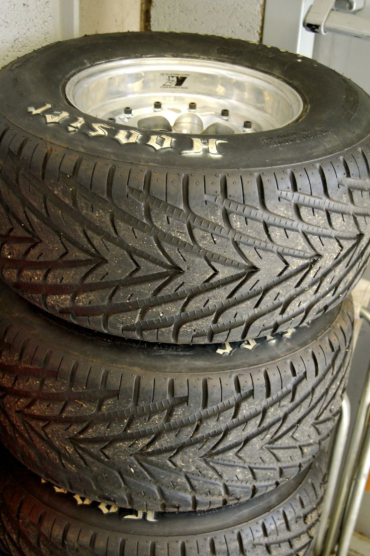 Tyres for the cars at Formula Student