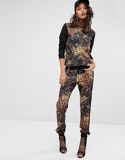 Versace | Спортивные штаны с животным принтом VersaceJeans