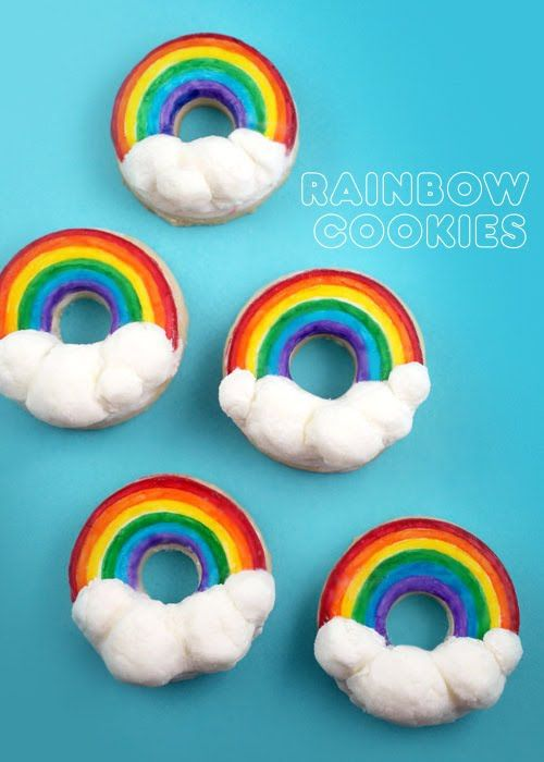 Rainbow Bright Cupcakes « bakerella.com | School projects | Pinterest