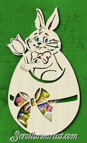 Scroll Saw Patterns :: Holidays :: Easter -