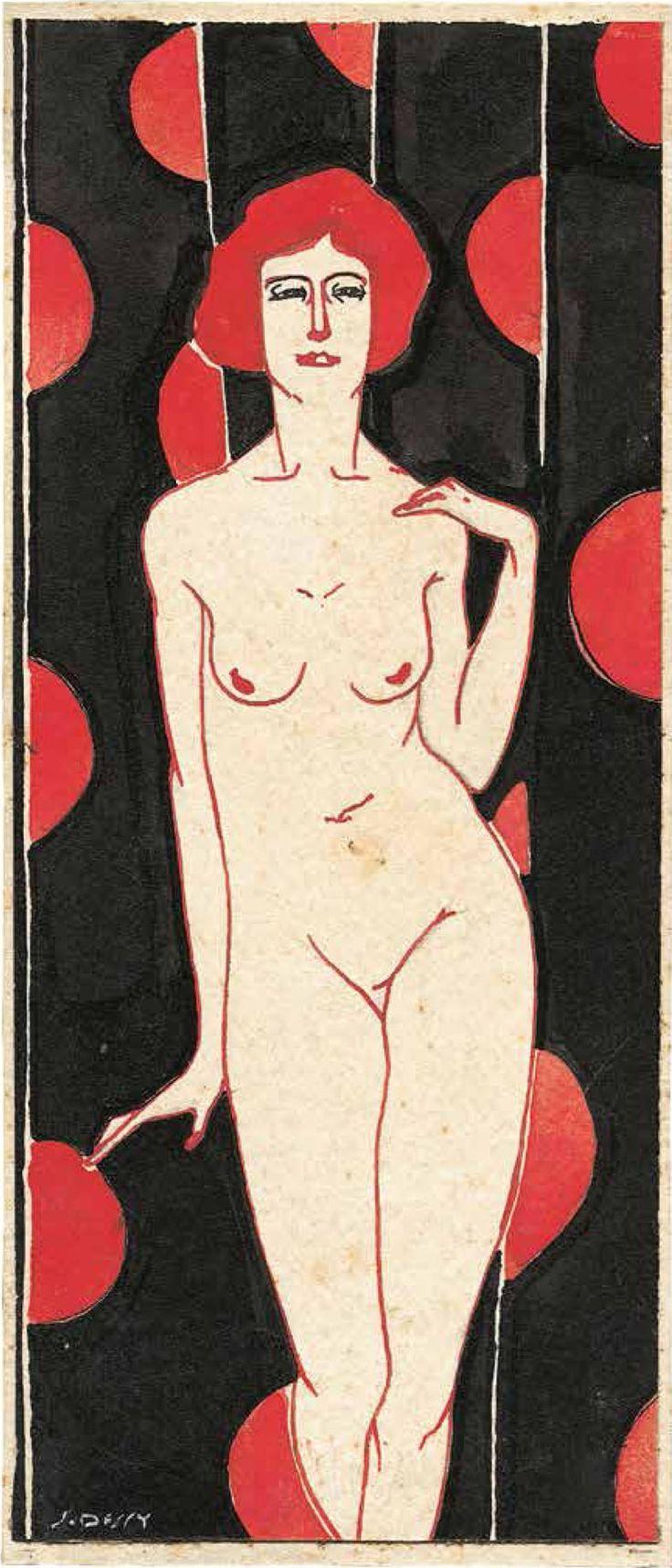 Stanis Dessy, Ada, olio su tela, 1927