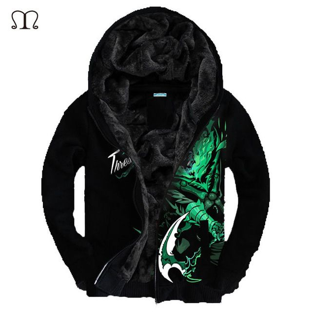 Today Sale $23.20, Buy Hoodies Men LOL 3D Brand-Clothing Men's Casual Sportswear Winter jacket Man Hoody Zipper Sweatshirt Men Slim Fit Mens Hoodie