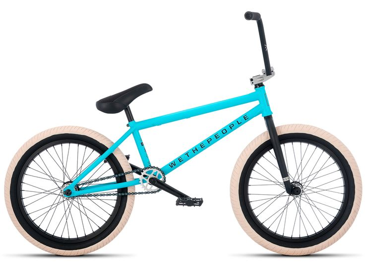 "wethepeople ""Reason FC"" 2017 BMX Bike - Freecoaster | Aqua Blue | kunstform BMX Shop & Mailorder - worldwide shipping"