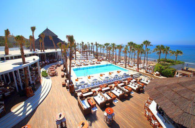 Marbella beach clubs - Nikki beach club