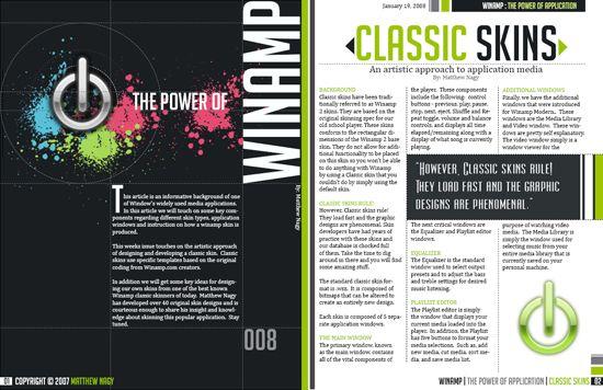 magazine layout ideas | Inspirational Pagination: Magazine Layouts ...