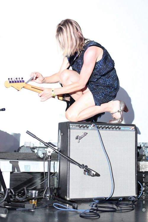 Kim Gordon @ Off Festival, Katowice (2012) Photo by Krzysztof Plebankiewicz