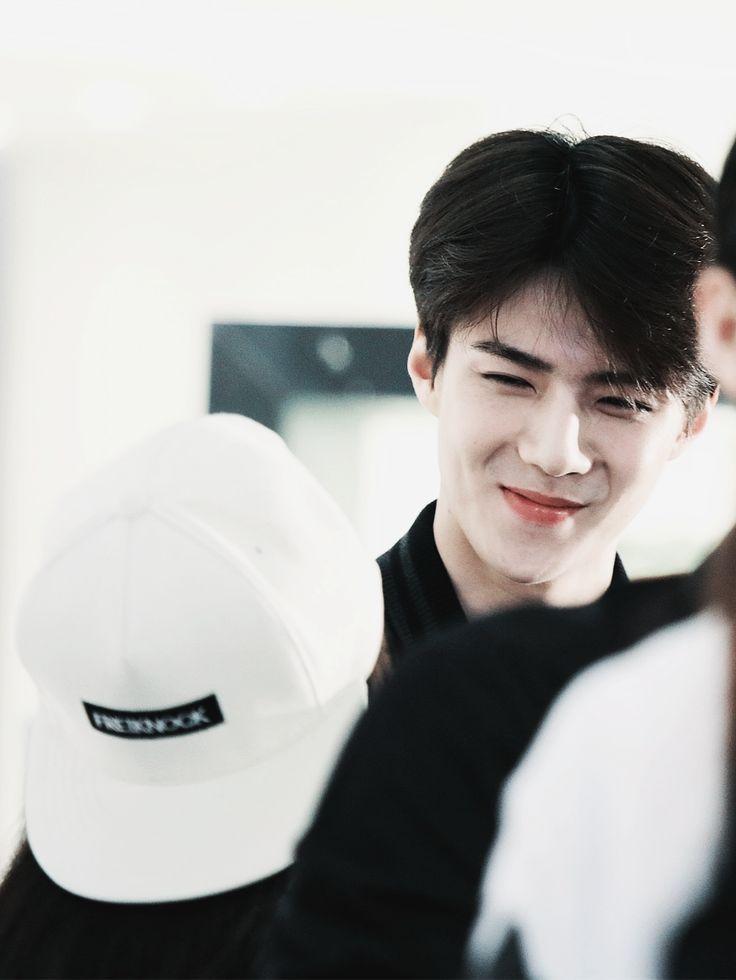 #sehun #exo #exok that smile ^-^ so cute so cute
