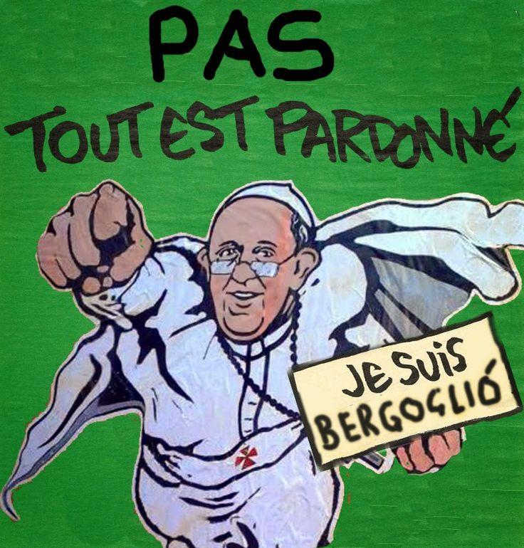 """Libertà d'espressione col cavolo! Papa: """"te doy un puñetazo"""" http://notizieoggi.blogspot.it/2015/01/liberta-despressione-col-cavolo-papa-te.html"""