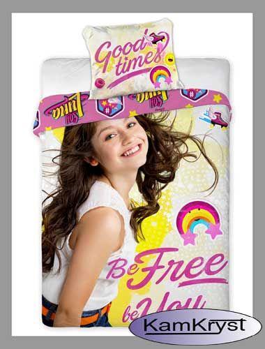 Soy Luna - pościel z bohaterką serialu dla młodzieży w rozmiarze 160x200 cm - 100% bawełna Faro #soyluna