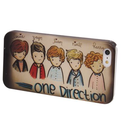 iPhone 5, 5s One Direction Cover, hoesje, case Painting