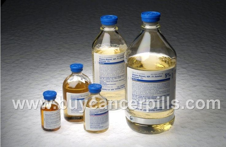 Albumin belongs to the group of medications known as plasma substitutes. Albumin is made by the liver and is a naturally-occurring protein found in plasma (the fluid that carries blood cells).  Shipping service available from India, UK and Singapore. 100% Guranteed Delivery. For more details visit our website: www.buycancerpills.com