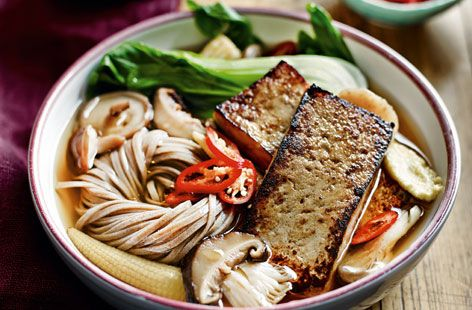 Try this brilliant ramen dish and for a one bowl wonder meal! Made with veg, noodles, tofu and broth, it is a real winner. For this recipe and much more healthy eating inspiration visit Tesco Real Food online today.