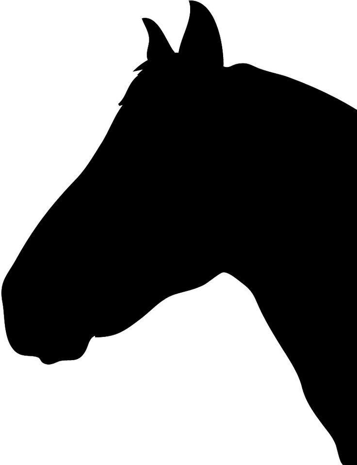 Die besten 25 Pferde silhouette Ideen auf Pinterest  Pferde