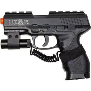 Ignite Black Ops Tactical Wolverine Pistol Professional Grade Airsoft Gun