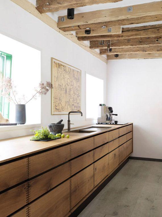 Materiales naturales en la cocina una tendencia en auge