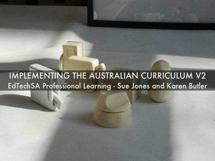 """""""Implementing the Australian Curriculum V2"""" - A Haiku Deck by Karen Butler"""