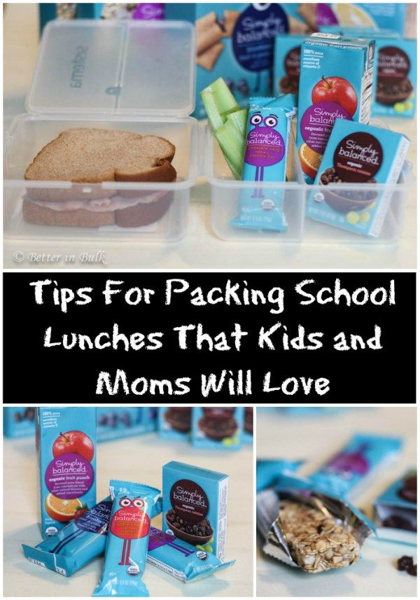 It's back-to-school season and that means it's time to get back into the habit of packing school lunches for the kids. Here are a few Tips For Packing School Lunches That Kids and Moms Will Love