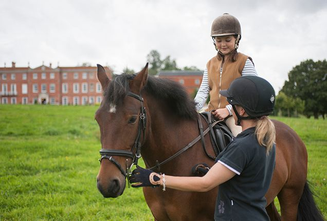 For the animal lover Many children wish for a pony, and now you can make this elusive dream come true. With the Own a Pony Day programme at Four Seasons Hotel Hampshire, young horse enthusiasts (ages 7 to 16) are paired with ponies and join the Hotel's equestrian team for the day.
