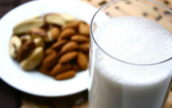 Receitas de leite vegetal: Castanhas, amendoim, aveia, inhame, coco e outros.
