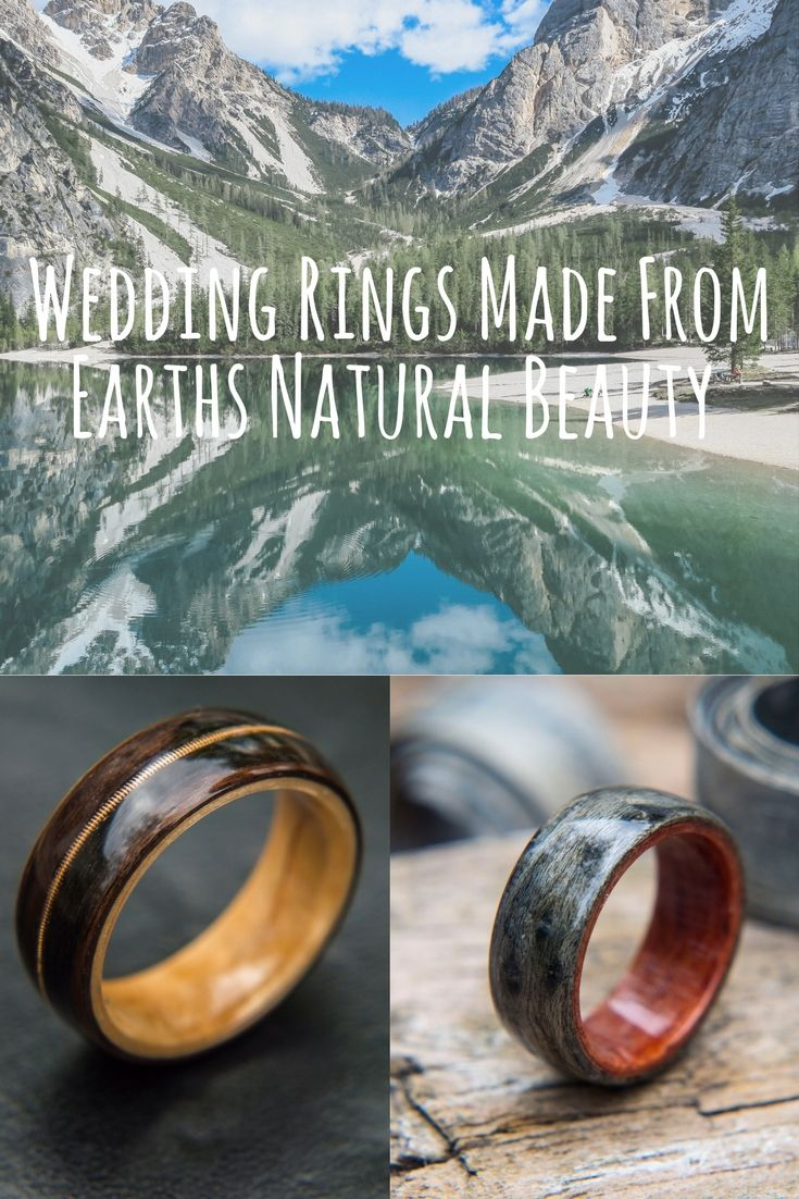 Mens bentwood rings made from earths natural beauty. The most unique mens wedding rings. 100% customizable. Send us your own wood if you would like.