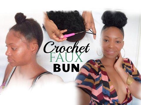 Crochet Faux Bun GRWM (VO VERSION) - YouTube