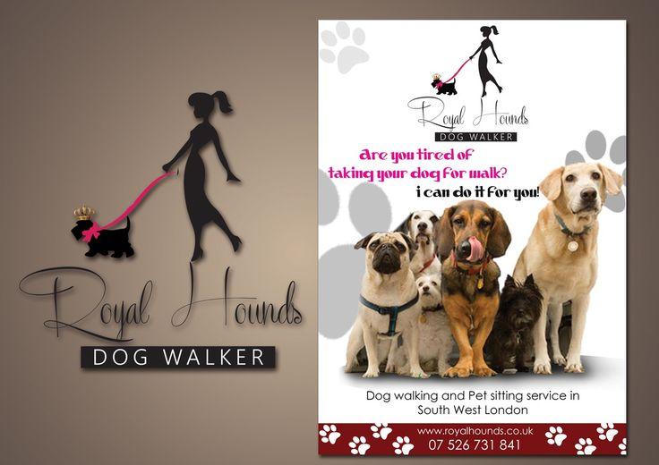 Dog Walking Ad Examples
