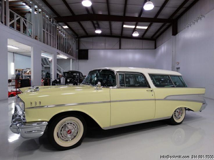 Daniel Schmitt & Co Presents: 1957 Chevrolet #Nomad  www.schmitt.com 314.291.7000 #classiccars #chevrolet