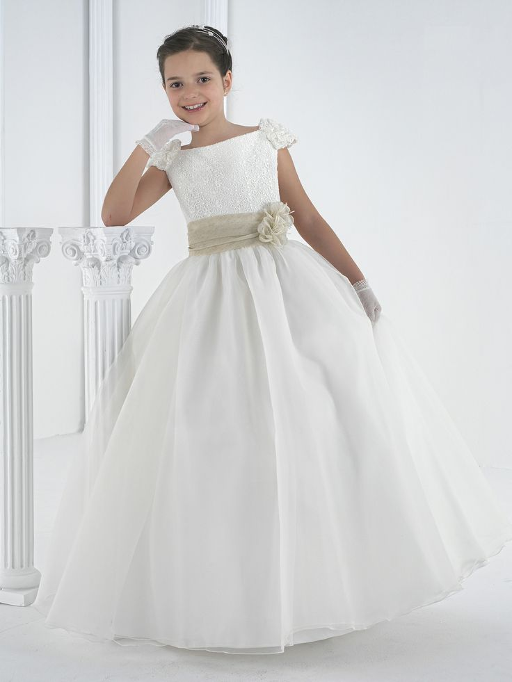 Vestido de comunión #niña. Colección 2014