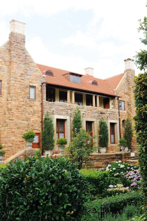 House styles we love - Sir Herbert Baker architect who used mainly sandstone