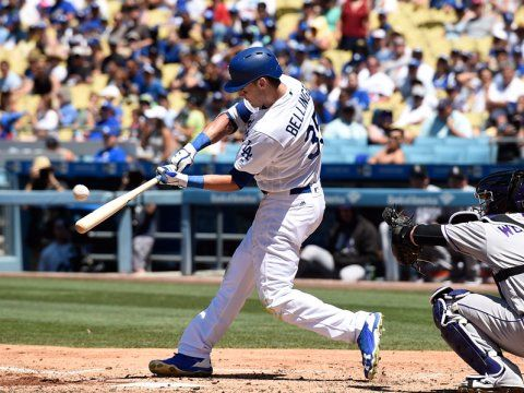 #34.  Cody Bellinger:   LOS ANGELES DODGERS  -   1B   -  The rookie Bellinger has been one of the richest sources of home run power in all of baseball this season. That's especially the case on a rate basis.  -  MLB Top 50 player rankings: Ranking the top 50 players in MLB so far this season based upon their performance so far  -  AUGUST 4, 2017