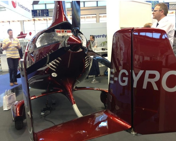 Cavalon autogyro with electric motor this photo is from for Lonne electric motors usa