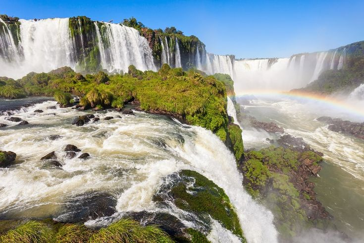 Argentina is South America's second largest, a captivating country of futbol , tango, beef, gauchos, Patagonian glaciers and the Andes - 10 day itinerary-Iguazu Falls (Cataratas del Iguazu) are waterfalls of the Iguazu River on the border of Argentina and Brazil. Iguazu are the largest waterfalls system in the world