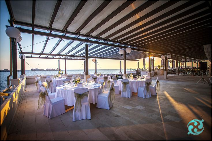 The Lounge terrace of Hotel Neptun | Dubrovnik Weddings
