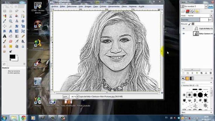 [Tutorial] Efecto dibujo a lápiz GIMP