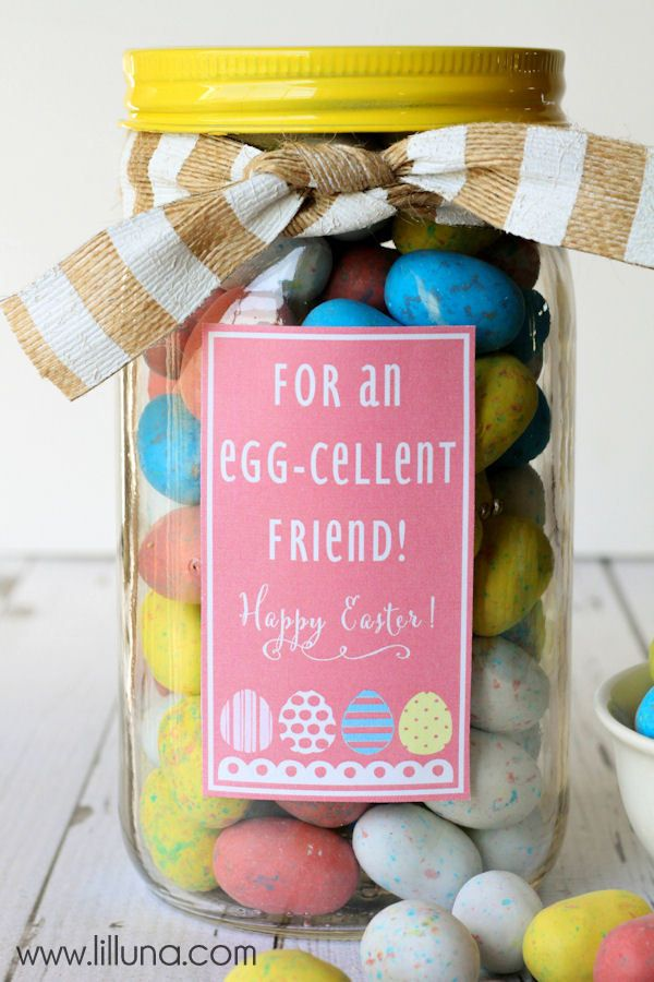 Cute, Simple and Sweet Easter Gift Idea. Visiting teaching gift