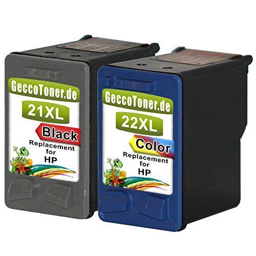 cartuchos tinta hp 21 y 22 xl compatible