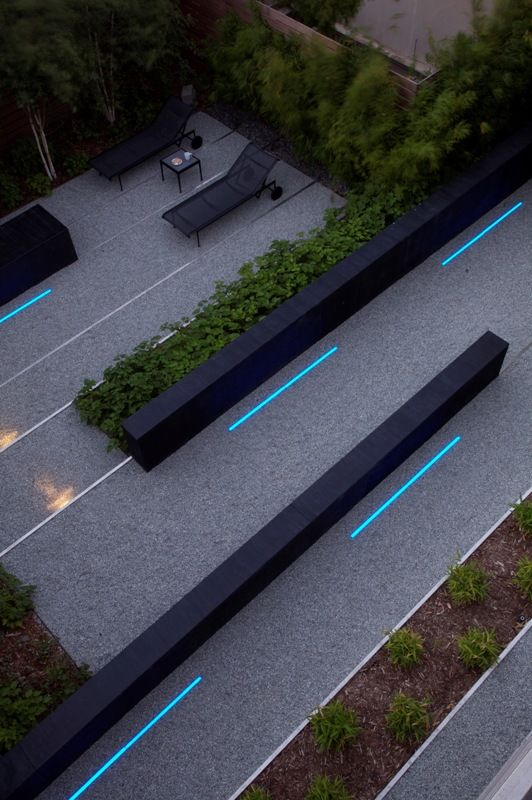 lighting garden design
