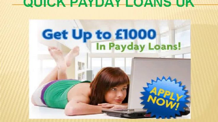 Payday Loans UK Online